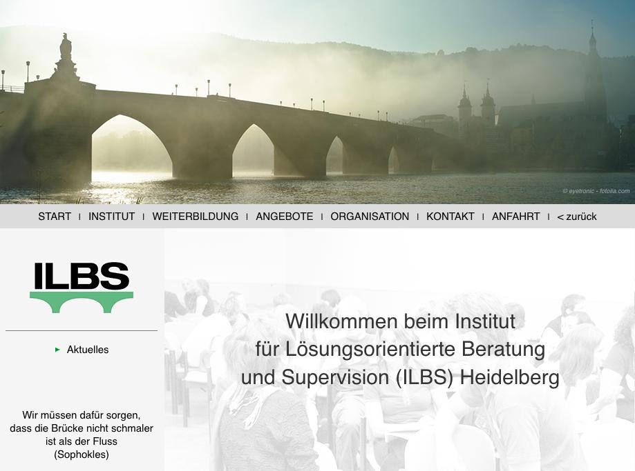Institut für lösungsoprientierte Beratung hnd Supervision Heidelberg
